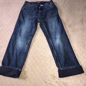 OshKosh Size 7 Lined Jeans